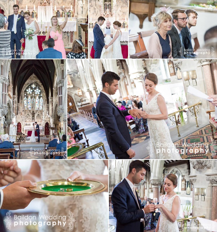 Chapel ceremony, Harrogate, religious wedding