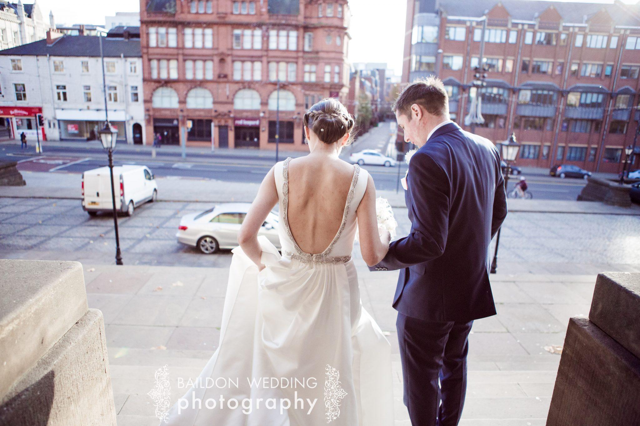 Leeds wedding photographer city centre