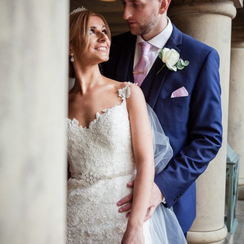 Holdsworth House wedding photography bride and groom at Halifax wedding venue