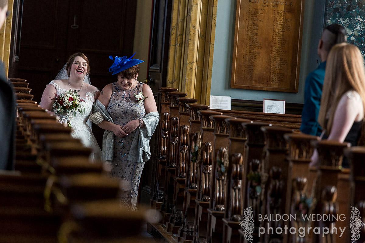 bride come down the aisle
