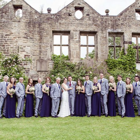 Bridal party picture