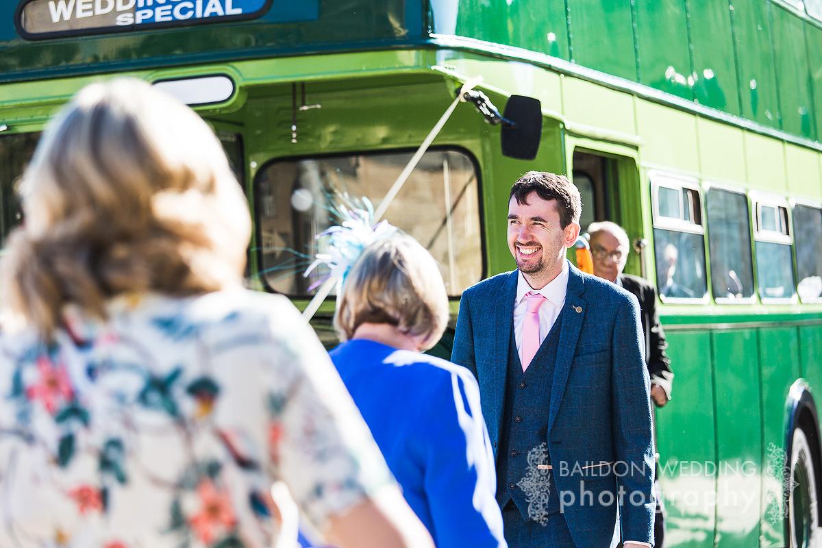 Leeds vintage bus