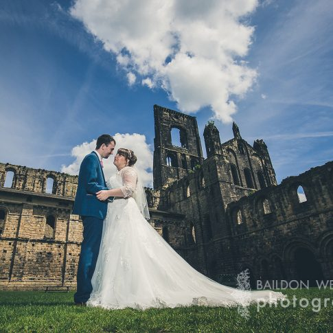 Leeds city wedding Kirkstall Abbey wedding