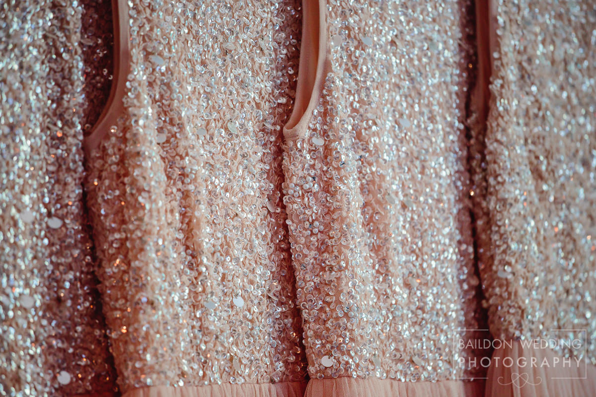 Close up detail sequins